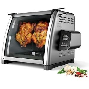 ... ST5500 Showtime Rotisserie Chicken Machine Stainless Electric Oven