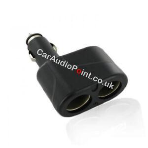 Car-Twin-Double-Cigarette-Lighter-Socket-Charger-Adaptor-Multiple-Splitter-12v