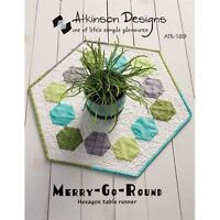 Pattern - Hexagon Table Runner (Using simple rows!!)