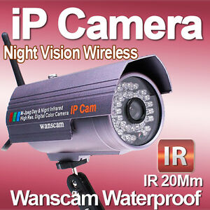 Security-Outdoor-Waterproof-Wireless-IP-Camera-Night-Vision-DDNS-Motion-Alarm