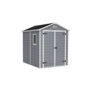 keter manor 6x8 shed ebay. Black Bedroom Furniture Sets. Home Design Ideas
