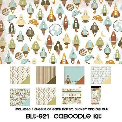 Three Bugs In A Rug blast Off Caboodle Kit Boy Girl Space Scrapjack's Place