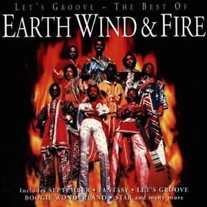 EARTH WIND & AND FIRE ( NEW CD ) LET'S GROOVE THE VERY BEST OF / GREATEST HITS