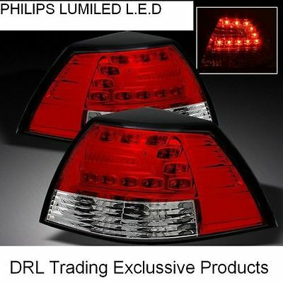 Holden Commodore Ve Series 1 Series 2 Design Red Clear Led Tail Lights Ss