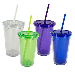 16-Oz-Eco-Double-Wall-Cold-Drink-Cup-with-Water-RippleTexture-EC-10WR