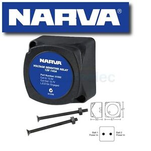 NARVA-61092BL-VOLTAGE-SENSITIVE-RELAY-12V-VSR-ISOLATOR-140A-DUAL-BATTERY-SYSTEM