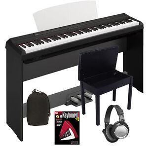 yamaha p105 pianos keyboards organs ebay. Black Bedroom Furniture Sets. Home Design Ideas