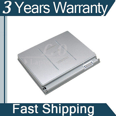"New 6 Cell Laptop Battery for Apple MacBook Pro 15"" A1150 A1175 MA348G/A Silver on Rummage"