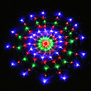 Colorful 120 LED Net Light For Christmas/Wedding Party