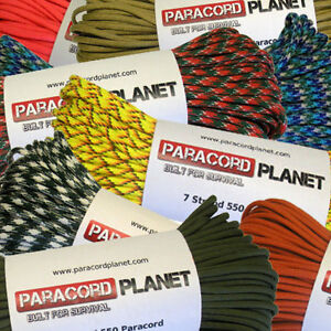 550-7-Strand-Type-III-Mil-Spec-Survival-Paracord-10-25-50-100