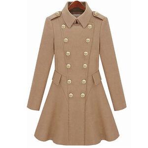 Gossip-Girl-Slim-Dress-Wool-Blend-Winter-Coat-Jacket-Outwear-Double-Breasted