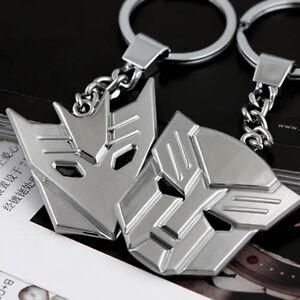 New-Transformers-Optimus-Prime-Decepticons-metal-keyring-Key-chain-Key-Fob
