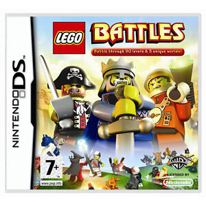 Lego Battles Game for Nintendo DS/DSi NEW SEALED