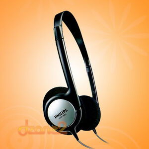 Philips-SHP1800-Indoor-Corded-TV-Headphones-Free-Shipping-Worldwide-SHP-1800
