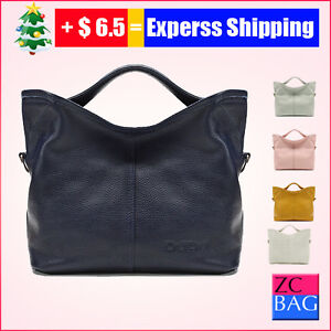 100-Waltz-Messenger-Genuine-Leather-Handbag-Bag-Satchel