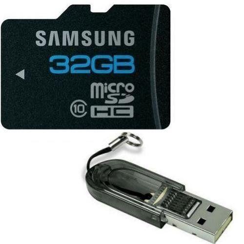 Samsung 32gb Micro Sd Memory Card Micro Sdhc Class 10 Galaxy S2 Tab + Usb Reader