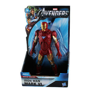 New-Marvel-THE-AVENGERS-IRON-MAN-MARK-VI-20cm-Official-PVC-Figure