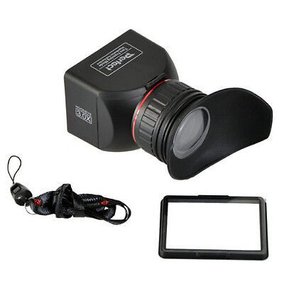 """Cowboystudio 3"""" Lcd Foldable Viewfinder 3x Magnification ..."""