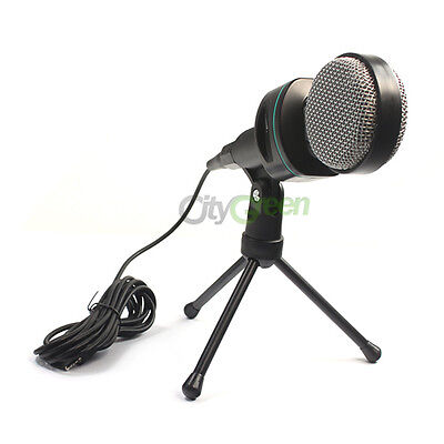 New Condenser Sound Professional Microphone Mic PC Laptop on Rummage