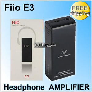 FIIO-E3-HEADPHONE-AMPLIFIER-AMP-3-5mm-EARPHONE-MP3-MP4