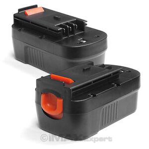 2-x-18V-3-0AH-Ni-MH-Battery-for-Black-Decker-Firestorm-18-Volt-Cordless-Drill