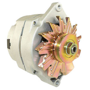 NEW HIGH OUTPUT CHEVY ONE 1 WIRE ALTERNATOR 105 AMP