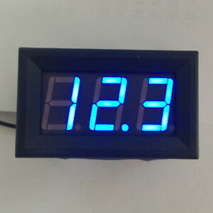 Digital-MiNi-4-5-30V-Blue-LED-Car-Auto-Voltmeter-Voltage-Volt-Panel-Meter