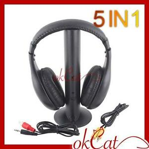 Wireless-FM-Earphone-Headphone-5-in-1-for-MP3-PC-TV-CD
