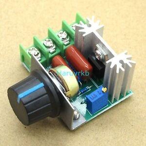 Ac 110v 220v 2000w scr voltage regulator dimming speed for Ac motor speed control methods