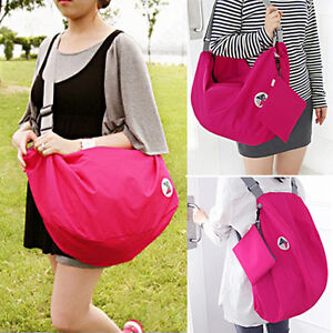 New-Girls-Multi-Function-Nylon-Shoulder-Bag-Schoolbag-Backpack-Free-Wallet-BF4U