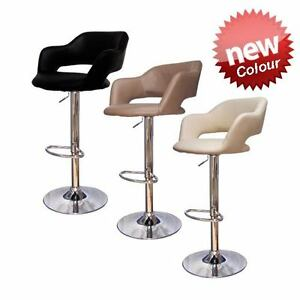 1 New Leather Abs Kitchen Breakfast Bar Stools Barstools