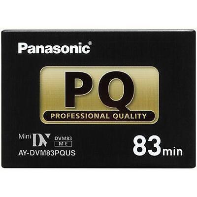 1 Panasonic Pro 83 Minutes Mini Dv Tape For Nv Gs250 Gs400e Md10000 Md9000en Cam