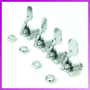 4-Chrome-Bass-Guitar-Machine-Heads-Knobs-Tuners-tuning-pegs-tuners-guitar-parts