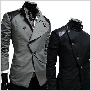 HBJ-Mens-unbalance-rider-st-button-blazer-jacket