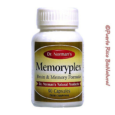Dr. Norman's Memoryplex Packaging