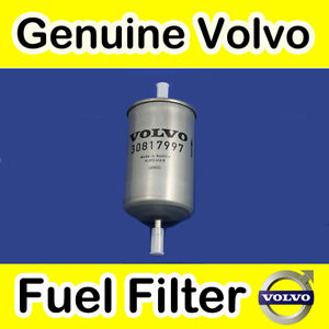 volvo fuel filter genuine volvo s40 v40 00 petrol fuel filter ebay volvo s40 fuel filter location #12