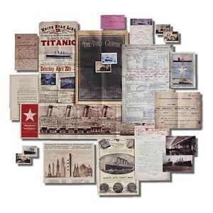 Titanic-Memorabilia-Pack
