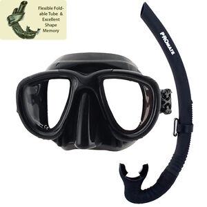 ULTRA-LOW-VOLUME-Spearfishing-Freediving-Scuba-Dive-Mask-Snorkel-Gear-Combo-Set