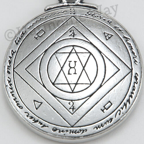Talisman For Extreme Good Luck Pendant Solomon Seal Of Magical Symbols Amulet