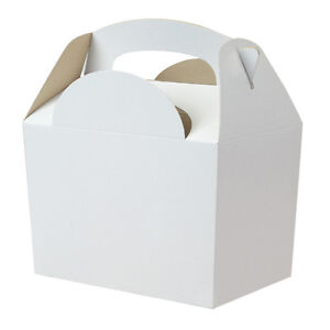Plain White Boxes | eBay