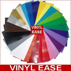 10-Rolls-12-x-10ft-ea-Permanent-Sign-Craft-Vinyl-UPick-from-27-Colors-V0304