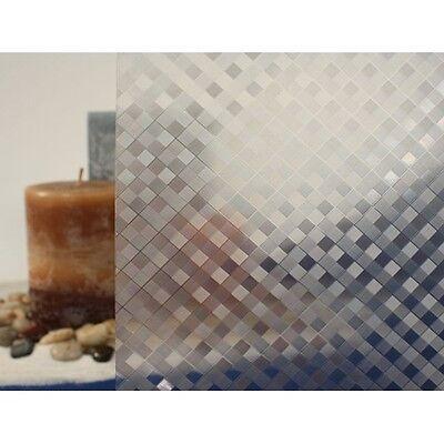 Clear Weave, Static Cling Window Film | 36