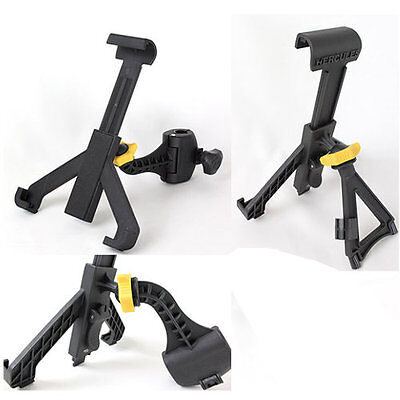Hercules ha300 tablet ipad holder tabgrab for mic stand or keyboard stand ebay - Hercules tablet stand ...