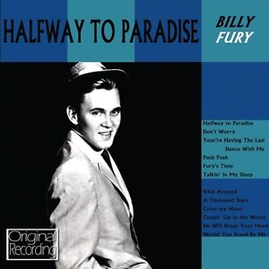 Billy Fury - Halfway To Paradise CD