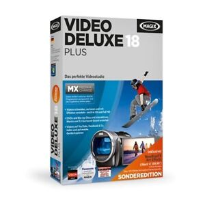 MAGIX Video Deluxe MX Plus Sonderedition (Version 18) - NEU & OVP