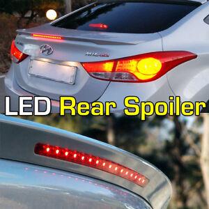 Rear Led Spoiler Brake Light Fit Hyundai Elantra Sedan 2011 2015 Ebay