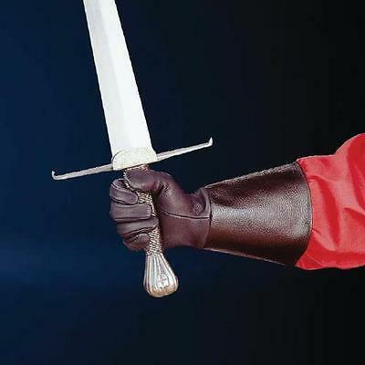 Leather Medieval Gauntlets - Perfect For Re-enactment Stage LARP