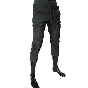 RB00-THELEES-Mens-Casual-Slim-Semi-Baggy-Printed-Fashionable-Training-Pants