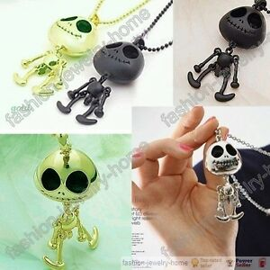 Fashion-UFO-E-T-Style-Robots-Skeleton-chain-Necklace-Pendant