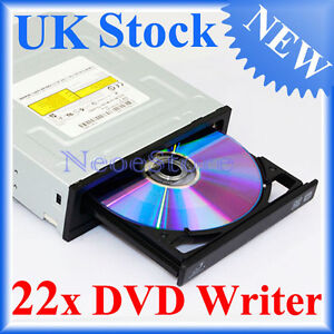 Samsung SATA 22x DVD±RW CD Writer Drive Burner TS-H663 For Desktop PC Internal